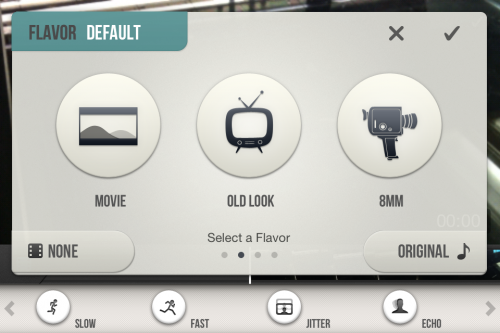 Game Your Videos - Selection des themes