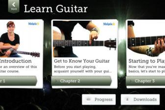 Learn Guitar Les bons plans de lApp Store ce mardi 14 février 2011
