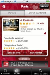 Restaurant St Valentin 200x300 Dossier : toutes les applications pour bien fêter la St Valentin