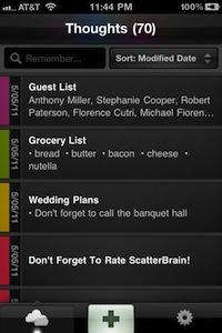 ScatterBrain Les App4Tops de la semaine 6 : nos coups de coeur