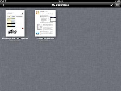 TestPDFPen 0021 Test de PDFPen : Un nouvel outil pour travailler vos PDF sur iPad (7,99€)