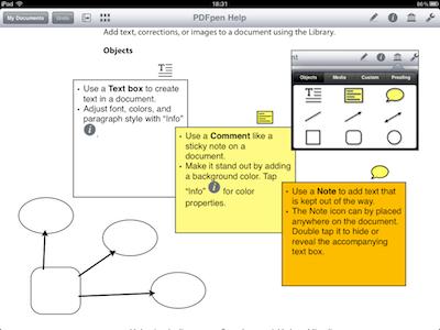 TestPDFPen 018 Test de PDFPen : Un nouvel outil pour travailler vos PDF sur iPad (7,99€)