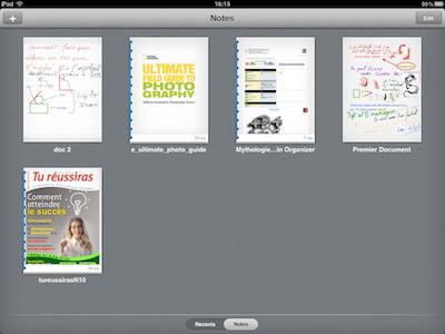TestRemarks 002 Test de Remarks pour iPad : Écrire et annoter des PDF, cest possible ! (3,99€)