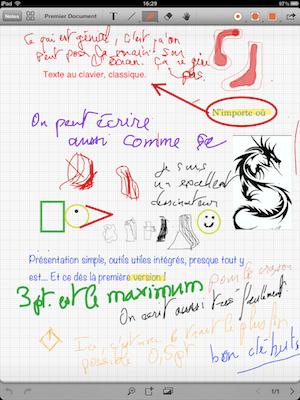 TestRemarks 016 Test de Remarks pour iPad : Écrire et annoter des PDF, cest possible ! (3,99€)