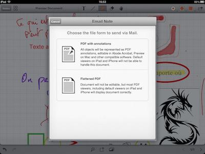 TestRemarks 019 Test de Remarks pour iPad : Écrire et annoter des PDF, cest possible ! (3,99€)