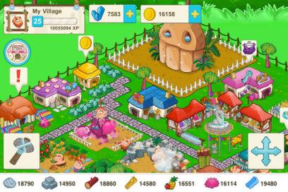 Tiny village 3 Tiny Village : Un nouveau jeu de gestion sur iPhone (Gratuit)