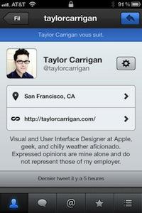 TweetBot2 Le célèbre et très bon TweetBot passe en 2.0 (2,39€)
