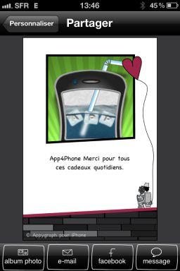 appygraph 1 Lapplication AppyGraph est gratuite pour la Saint Valentin en partenariat avec App4Phone