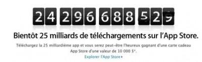 article concours Apple e1329515507784 Concours : Une carte iTunes de 10000$ à gagner !