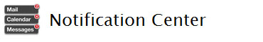 ml notificationcenter Moutain Lion : OS X avec un peu (beaucoup) diOS dedans