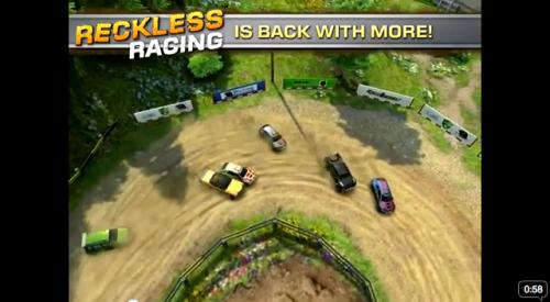 screen capture 11 500x275 Lexcellent Reckless Racing 2 soldé à 0,79€ ce Week end !