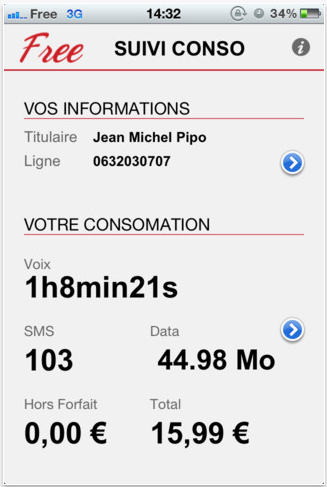 screen capture 15 Suivi Conso Free : cest comme passer au tout numérique ! (Gratuit)
