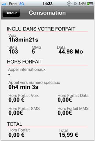 screen capture 35 Suivi Conso Free : cest comme passer au tout numérique ! (Gratuit)