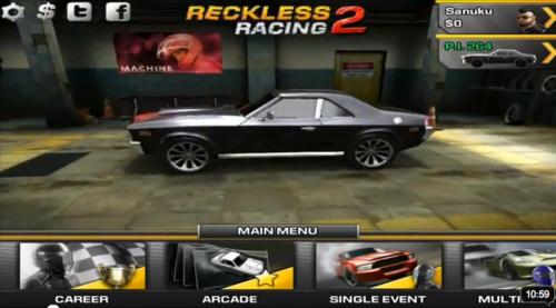 screen capture2 500x277 Lexcellent Reckless Racing 2 soldé à 0,79€ ce Week end !