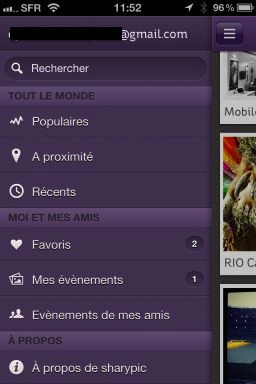 sharypic 2 SharyPic : Une plateforme de partage de photos en temps réel (gratuit)