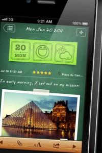 wonderful days diary with style 200x300 Les bons plans de lApp Store du dimanche 12 février 2012