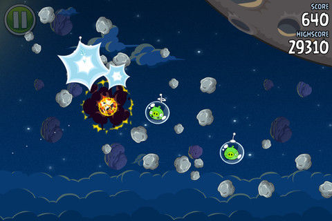 Angry Birds Spaces 3 Angry Birds Spaces atterrit sur lApp Store !
