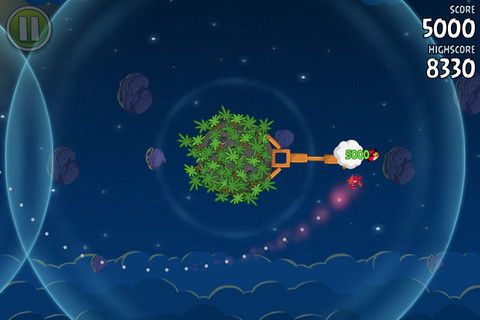 Angry birds spaces 2 Angry Birds Spaces atterrit sur lApp Store !