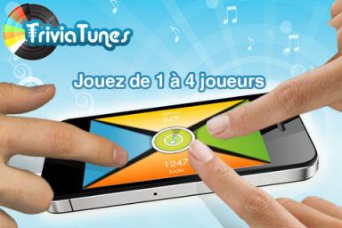 BlindTest Le jeu gratuit TriviaTunes lance une PlayList en partenariat avec App4Phone