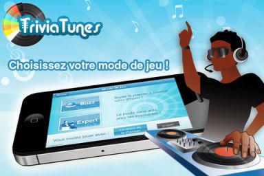Blindtest 2 Le jeu gratuit TriviaTunes lance une PlayList en partenariat avec App4Phone