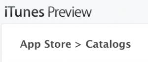 Catalogues 300x126 Une nouvelle catégorie sur lApp Store : Catalogues