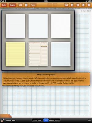 CcrsGhostwriterNotes 017 Test de Ghostwriter Notes pour iPad   Prise de notes Manuscrites et bien plus ! (2,99€)