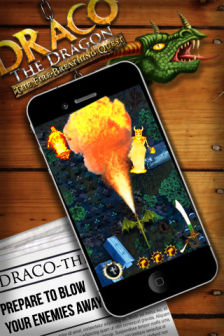 Draco the dragon Les bons plans de lApp Store ce mardi 27 mars 2012