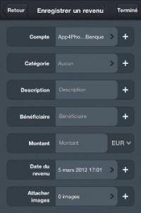 IMG 01801 199x300 Test de MoneyWiz : Un excellent gestionnaire de comptes... (3,99€)