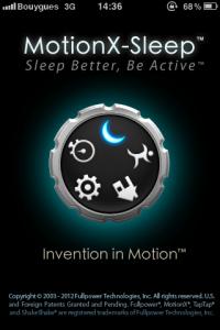 IMG 0562 200x300 Test de Motion X Sleep, analysez vos nuits et vos journées (0,79€)
