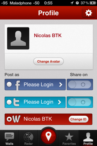 IMG 0913 333x500 Test de Wallit, un réseau social de proximité (gratuit)