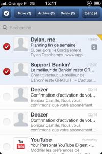 IMG 1695 200x300 Test de Sparrow: le célèbre client mail Mac enfin disponible sur votre iDevice (2,39€)