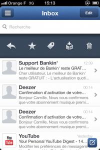 IMG 1697 200x300 Test de Sparrow: le célèbre client mail Mac enfin disponible sur votre iDevice (2,39€)
