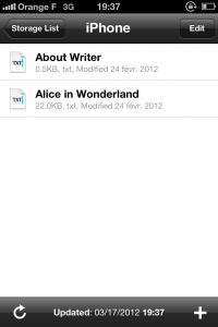 IMG 1698 200x300 Test de iA Writer   Une app de prise de note améliorée? (0,79€)