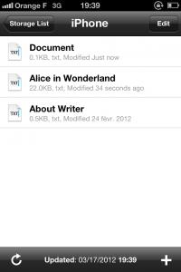 IMG 1701 200x300 Test de iA Writer   Une app de prise de note améliorée? (0,79€)