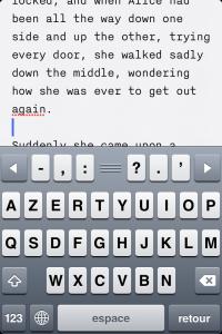 IMG 1704 200x300 Test de iA Writer   Une app de prise de note améliorée? (0,79€)