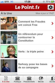 LePoint Les bons plans de lApp Store ce jeudi 22 mars 2012