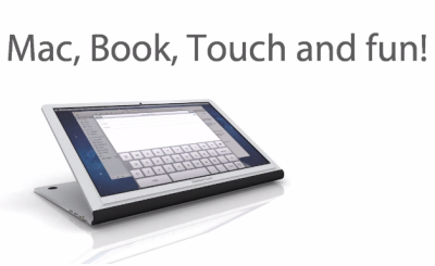 MacBook Touch concept vidéo Un concept innovant de MacBook tactile