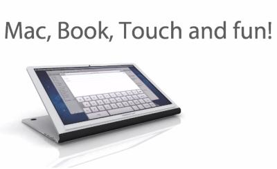 MacBook Touch concept vidéo