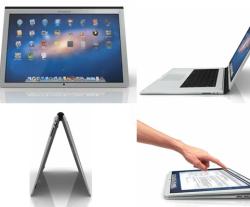 MacBook Touch concept une
