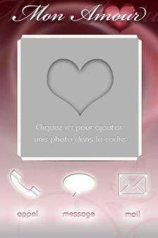Mon amour 1 Lapplication Mon Amour V2 est gratuite en partenariat avec App4Phone !