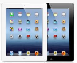 Nouvel iPad Vidéo : pub du nouvel iPad