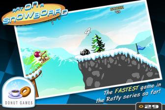 Rat on a snowboard Les bons plans de lApp Store ce vendredi 30 mars 2012