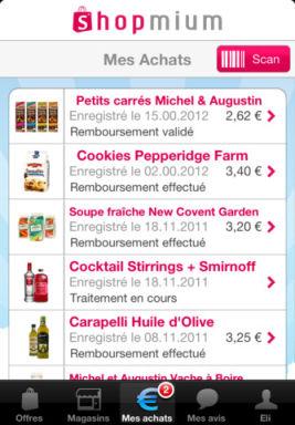 Shopmium 1 Shopmium (Gratuit) : Faites des économies sur les produits du quotidien !