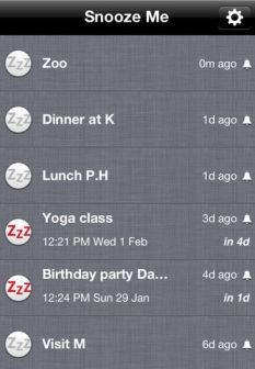 Snooze Me Les bons plans de lApp Store ce dimanche 11 mars 2012