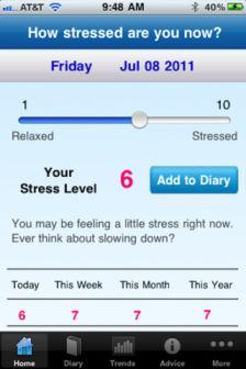 Stress Tracker Les bons plans de lApp Store ce lundi 5 mars 2012