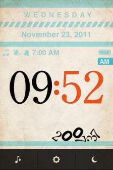 The alarm app Les bons plans de lApp Store ce dimanche 4 mars 2012