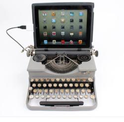 Typewriter une