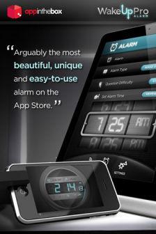 Wake Up Pro Alarm Les bons plans de lApp Store ce vendredi 23 mars 2012