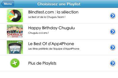 blintest app4 Le jeu gratuit TriviaTunes lance une PlayList en partenariat avec App4Phone