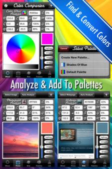 color companion Les bons plans de lApp Store ce vendredi 23 mars 2012